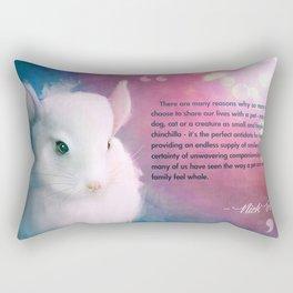 A Chinchilla's Love Rectangular Pillow