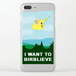 I want to BIRBLIEVE Clear iPhone Case