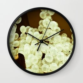 White Ballons  Wall Clock