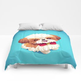 Shih Tzu Love Comforters