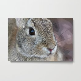 I Have Bunny Eyes For You Metal Print