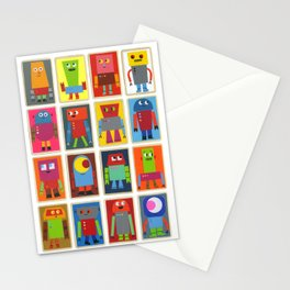 The Robot Army, 2013 Stationery Cards