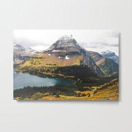 Hidden Lake II - Glacier Metal Print