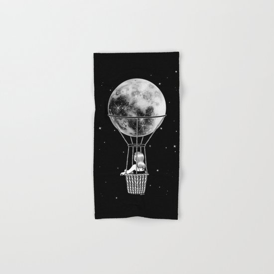 Night Flight Hand & Bath Towel