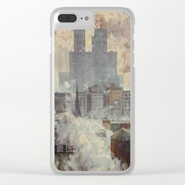 Lewis, Martin (1881-1962) - New York 1911 - Lower End of the City Clear iPhone Case