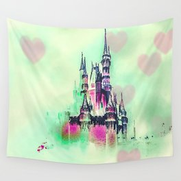 Princess In Love Wall Tapestry