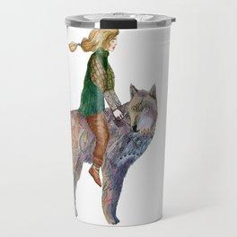 The wolf and the prince Travel Mug