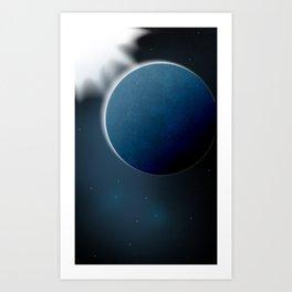 Cold planet Art Print