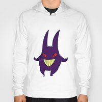 gengar Hoodies featuring gengar by Spacey Brains