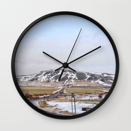 Morning view Wall Clock