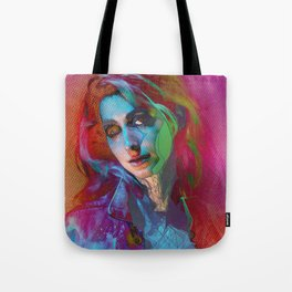 Galaxy Grunge Tote Bag