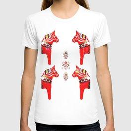 Swedish Dala Horses T-shirt