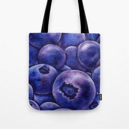 Fresh Blueberries Tote Bag