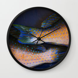 Pisces Tusk Fish Wall Clock