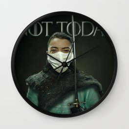 What do we say to the God of death? Wall Clock