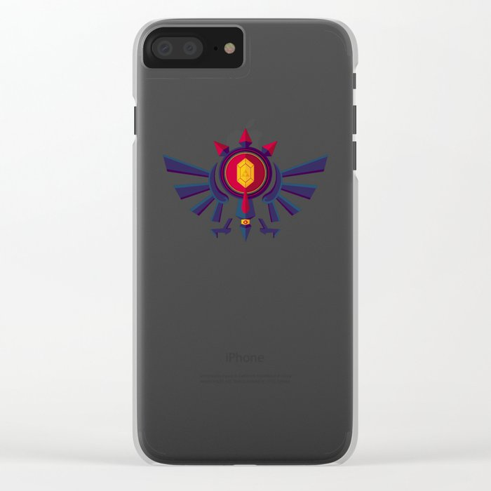 An Eye for the Truth Clear iPhone Case