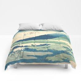 Mount Fuji Comforters