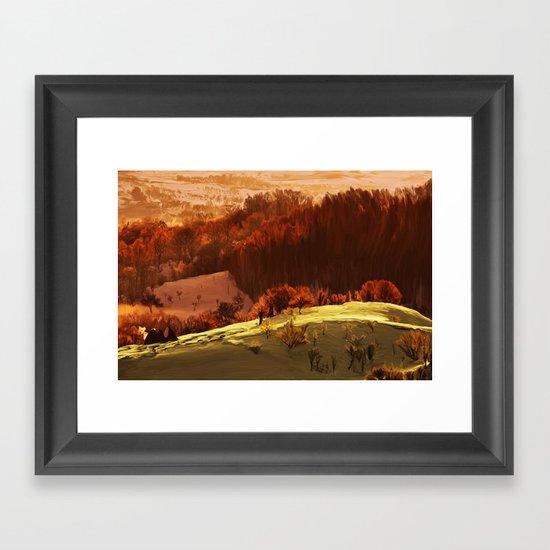 Rubrum Framed Art Print