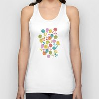 roses Tank Tops featuring ROSES by Bianca Green