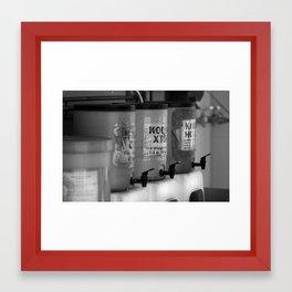 Developer Framed Art Print