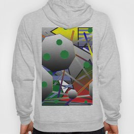 Composition with  octagon Hoody