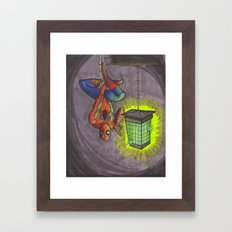 Zap Framed Art Print