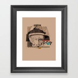 william s burroughs Framed Art Print
