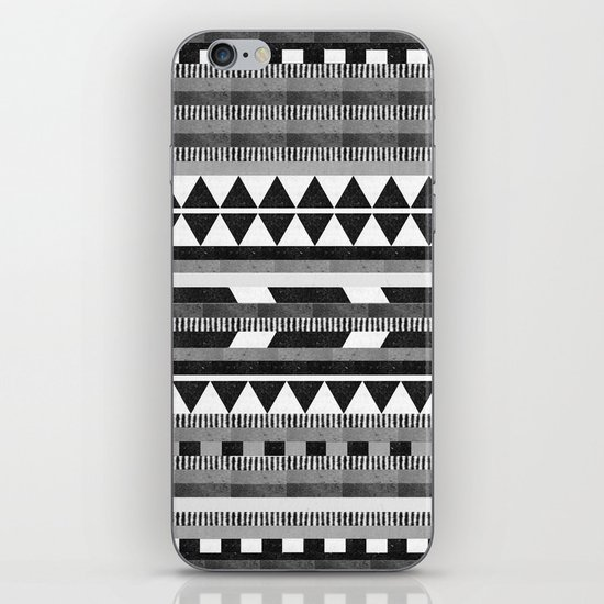 DG Aztec No.1 Monotone iPhone & iPod Skin