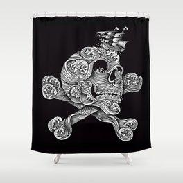 A Pirate Adventure Shower Curtain