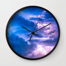 When Lightning Strikes Wall Clock