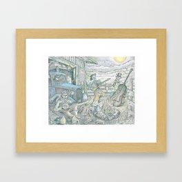 Barnyard Jams Framed Art Print