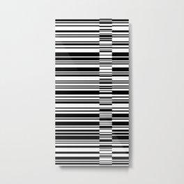 Code 2 Metal Print