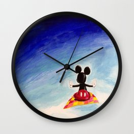 Mickey's Magic Carpet Ride Wall Clock