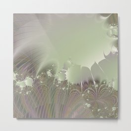 Awakening into a beautiful morning - A fractal fantasy Metal Print