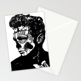 James Dean. Rebel: Zombie. Stationery Cards