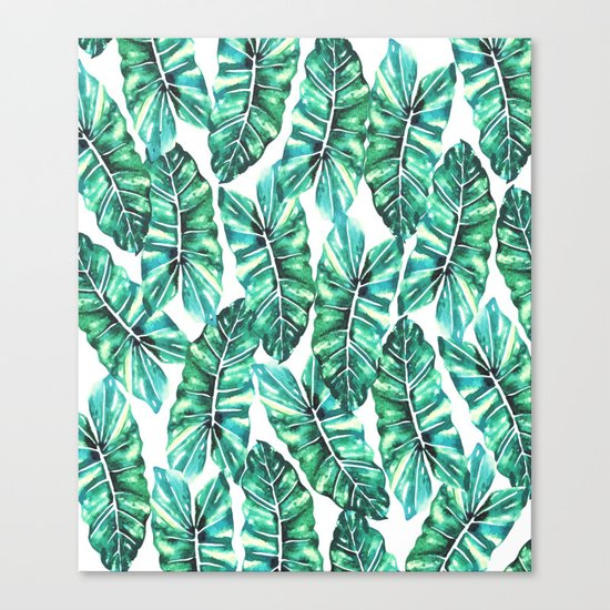 Leafy Wonder #society6 #decor #buyart Canvas Print