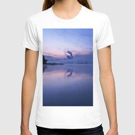 Tranquil blue nature T-shirt