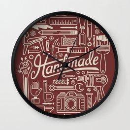 Make Handmade - Red Wall Clock