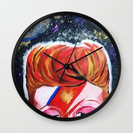 Starman (David Bowie) Wall Clock