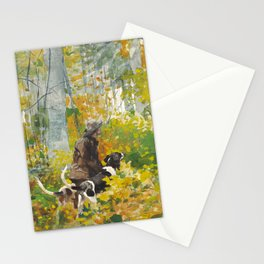 Winslow Homer's On the Trail (1889) Stationery Cards