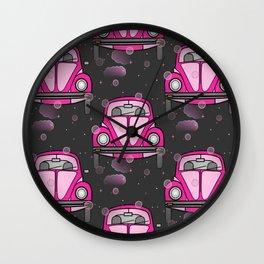 Pink And Perky Wall Clock