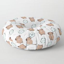 Dog fart Floor Pillow