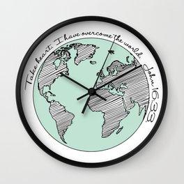 John 16:33 Wall Clock