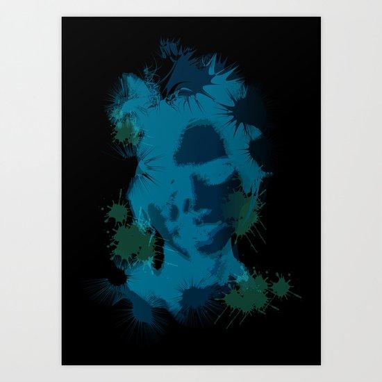 Cosmetic Fix Art Print