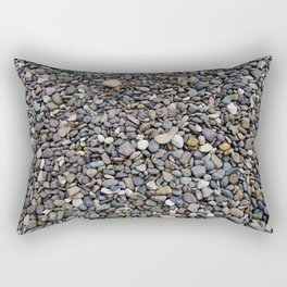 What Stories You Could Tell... Rocks of Jasper Beach Rectangular Pillow