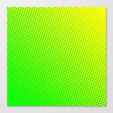 80's grade green Canvas Print