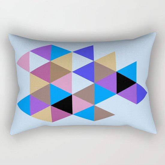 Abstract #793 Rectangular Pillow