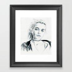Grey Sky  Framed Art Print