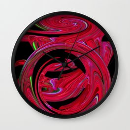 Eddies in the Etheric Wall Clock