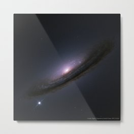 1727. Supernova 1994D and the Unexpected Universe  Metal Print
